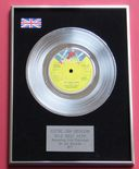 ELO ELECTRIC LIGHT ORCHESTRA - WILD WEST HERO PLATINUM Single Presentation Disc
